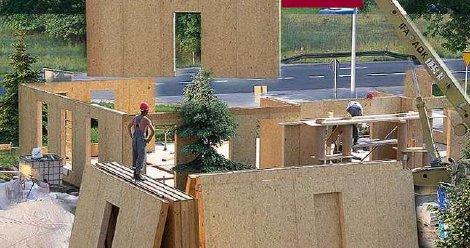 Casas canadienses casas con estructura y armaz n de madera - Estructura de madera para casas ...